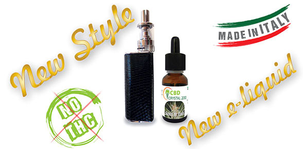 New Style New e-liquid - no thc