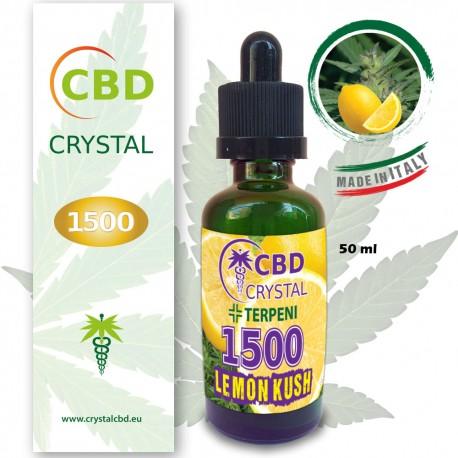 Crystal CBD 1500 Lemon Kush