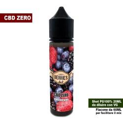 Berries CBD ZERO Concentrated