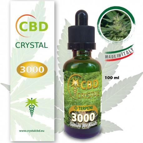 Crystal CBD 3000 Sativa Mr Kush