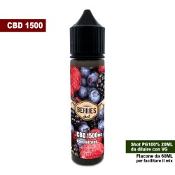 Berries CBD 1500 Concentrated