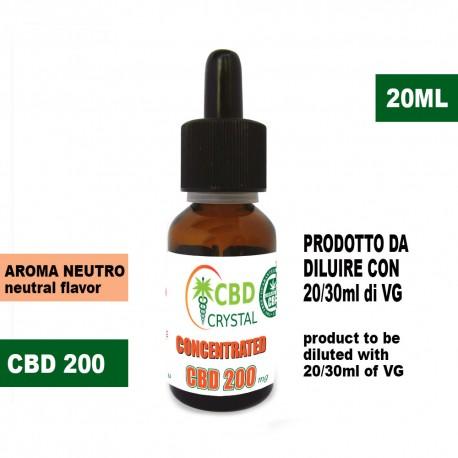 CristalCBD 200 concentrated
