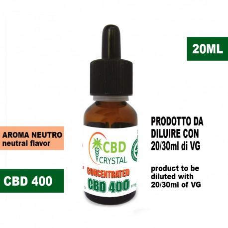 CristalCBD 400 concentrated