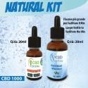 Kit Scomposto Natural CBD 1000