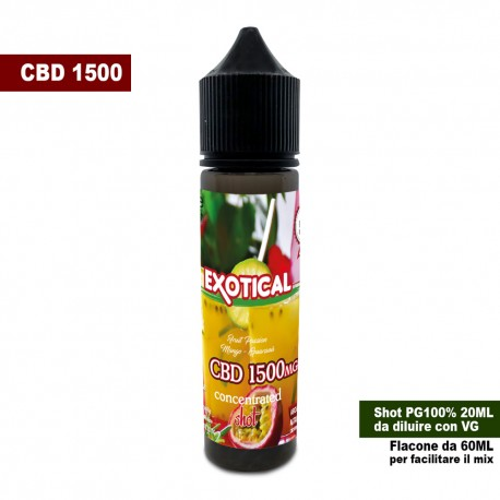 Exotical CBD 1500 Concentrated