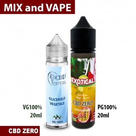 Exotical CBD ZERO Mix and Vape