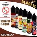 CBD e-liquids 1500mg Classic Tastes