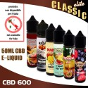 CBD e-liquids 600mg Classic Tastes