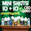 Cannabis Mini Shots CBD Zero 10+10