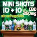 Cannabis Mini Shots CBD 250 10+10