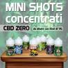 Mini Shot Cannabis Concentrato CBD Zero 10ml
