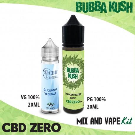 Bubba Kush CBD ZERO Mix and Vape