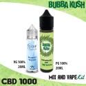 Bubba Kush CBD 1000 Mix and Vape