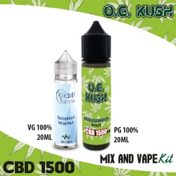 O.G. Kush CBD 1500 Mix and Vape