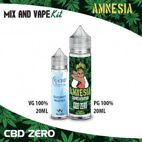 Amnesia CBD ZERO Mix and Vape