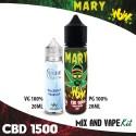 Mary WoW CBD 1500 Mix and Vape