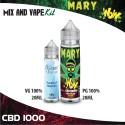 Mary WoW CBD 1000 Mix and Vape