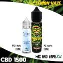 Lemon Haze CBD 1500 Mix and Vape