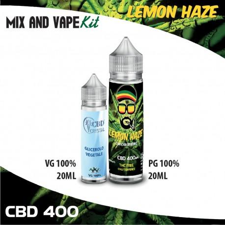 Lemon Haze CBD 400 Mix and Vape