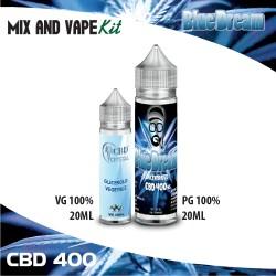 Blue Dream CBD 400 Mix and Vape