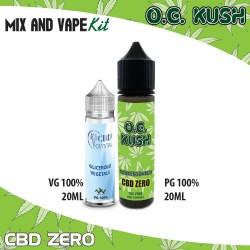 O.G. Kush CBD ZERO Mix and Vape