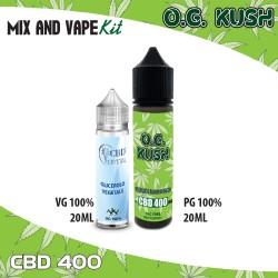 O.G. Kush CBD 400 Mix and Vape