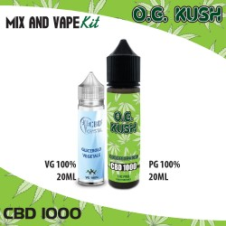 O.G. Kush CBD 1000 Mix and Vape
