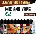 Classici Mix and Vape CBD 1500
