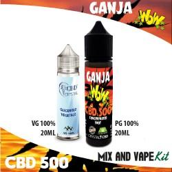 Ganja WoW CBD 500 Mix and Vape