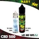 Mary WoW CBD 500 Mix and Vape