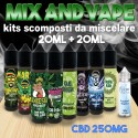 Cannabis Terpeni CBD 250 Mix and Vape