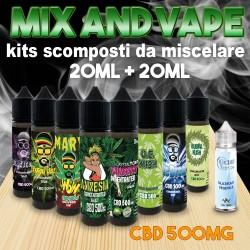 Cannabis Terpenes CBD 500 Mix and Vape