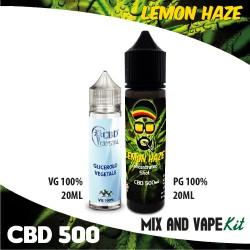 Lemon Haze CBD 500 Mix and Vape