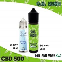 O.G. Kush CBD 500 Mix and Vape