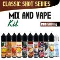 Classic Mix and Vape CBD 500