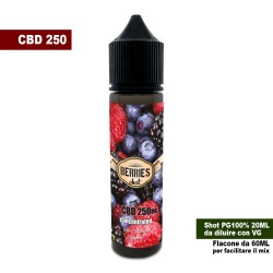 Berries CBD 250 Concentrated