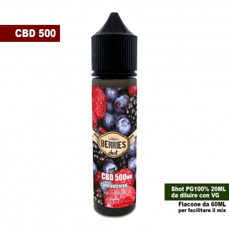 Berries CBD 500 Concentrated