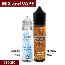 Honey Tobacco CBD 250 Mix and vape
