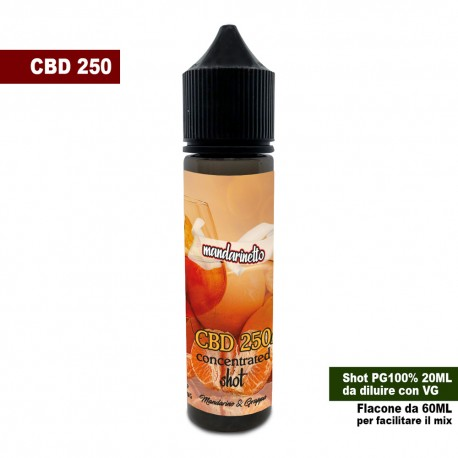 Mandarinetto CBD 250 Concentrated