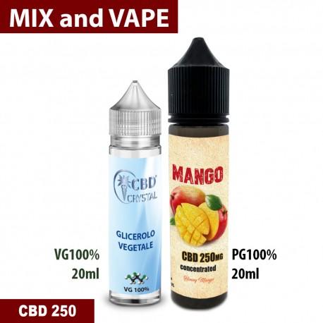 Mango CBD 250 Mix and vape