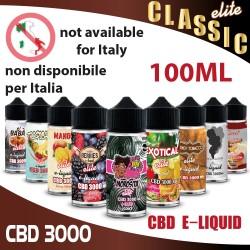 Liquidi CBD 3000 Sapori Classici 100ml