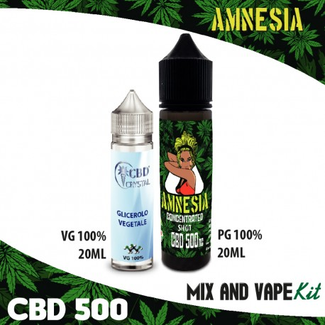 Cannabis Shots CBD 500 Mix and Vape