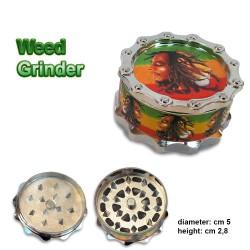 Weed Grinder Rasta