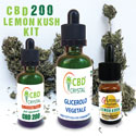 Kit Scomposto Lemon Kush CBD 200