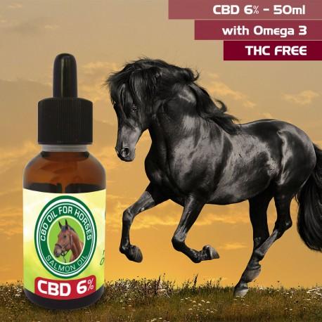 CBD OIL for Horses 6% 50ml
