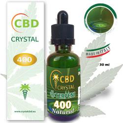 Crystal CBD 400 Natural