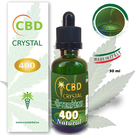 Crystal CBD 400 Natural