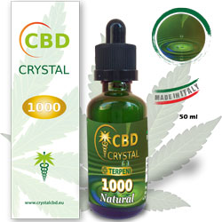 Crystal CBD 1000 Natural