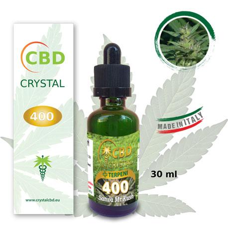 Crystal CBD 400 Sativa Mr Kush