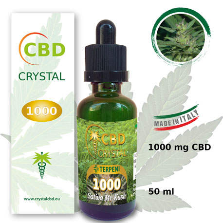 Crystal CBD 1000 Sativa Mr Kush